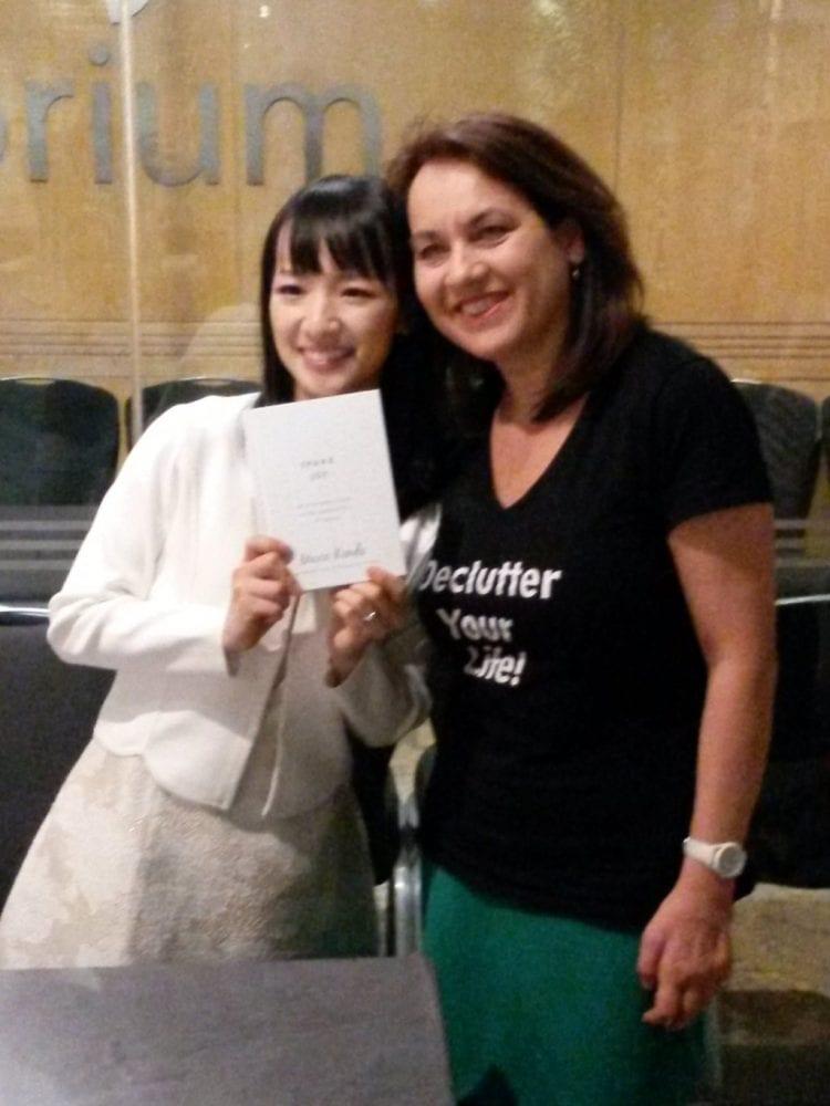 Meeting Marie Kondo
