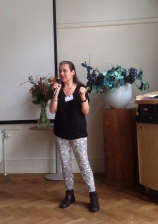 Speaking at NBPO