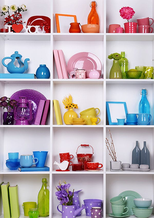 home organising and decluttering